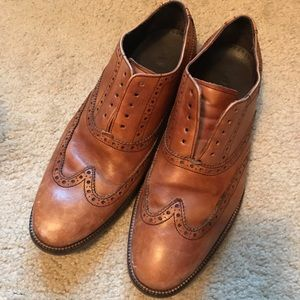 Cole Haan tan oxford shoes - size 8
